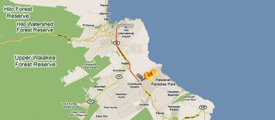 Map to Keaau Place