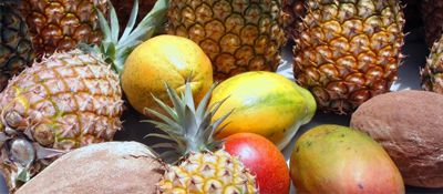 Fresh Fruit on Maui