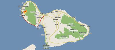 Directions to Maui Guest House